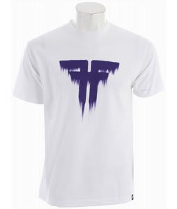 Fallen Bleed T-Shirt White/Purple