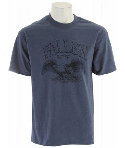 Fallen Heritage T-Shirt Heather Blue/Navy