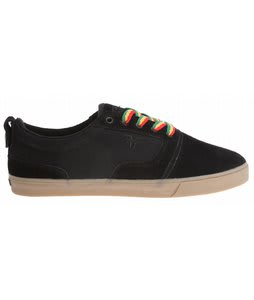 Fallen Kingston Skate Shoes Black/Gum