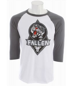 Fallen Out For Blood Raglan White/Charcoal