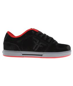 Fallen Patriot II Skate Shoes Black/Grey/Red