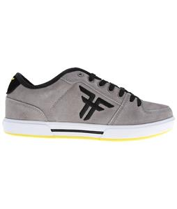 Fallen Patriot II Skate Shoes Grey/Black/Highlighter