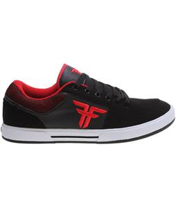 Fallen Patriot III Skate Shoes Black/Blood Red