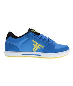 Fallen Patriot II Skate Shoes Sky Blue/ Fluro Yl