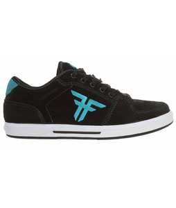 Fallen Patriot II Skate Shoes Black/Cyan II