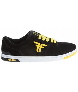 Fallen Seventy Six Skate Shoes Black/Yellow