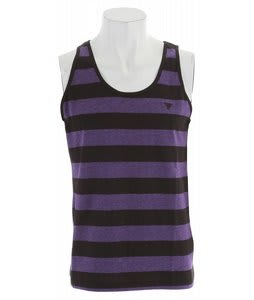 Fallen Striped Custom Knit Tank Top