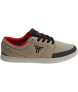 Fallen Torch Skate Shoes Khaki/Black