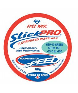 Fast Wax HSP-10 Slick Pro Paste Wax Green 60g