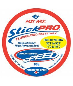 Fast Wax HSP-40 Slick Pro Paste Wax Yellow 60g