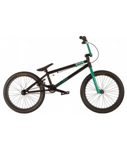 Fiction Fable BMX Bike Ed Black/Ghoul Green 20in