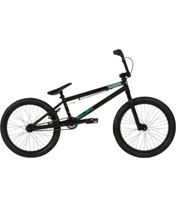 Fiction Savage BMX Bike Rat Rod Matte Black 20in