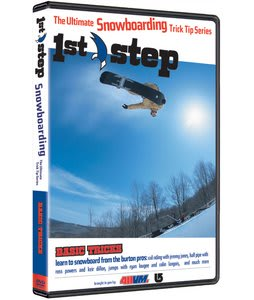 First Step Snow Basic Tricks Snowboard DVD
