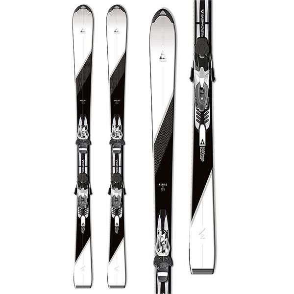 Fischer Aspire Fire Skis w/ W9 Bindings