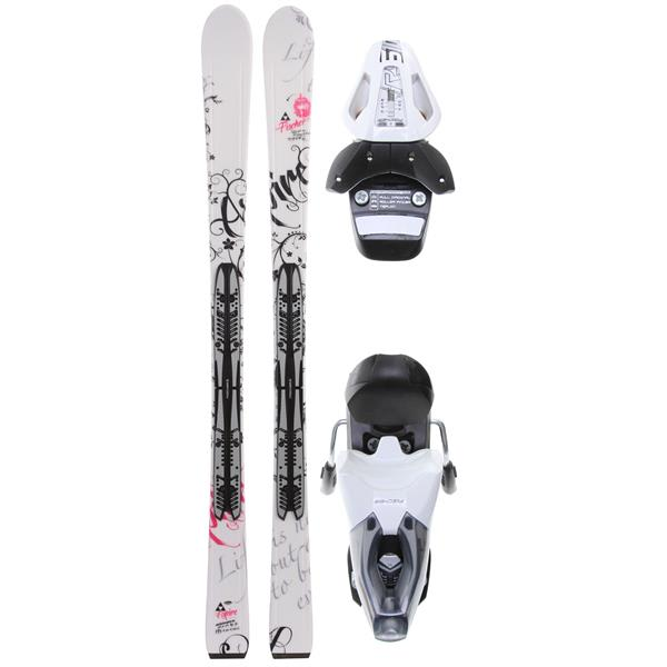 Fischer Aspire White Fp9 Skis w/ RS 10 Bindings