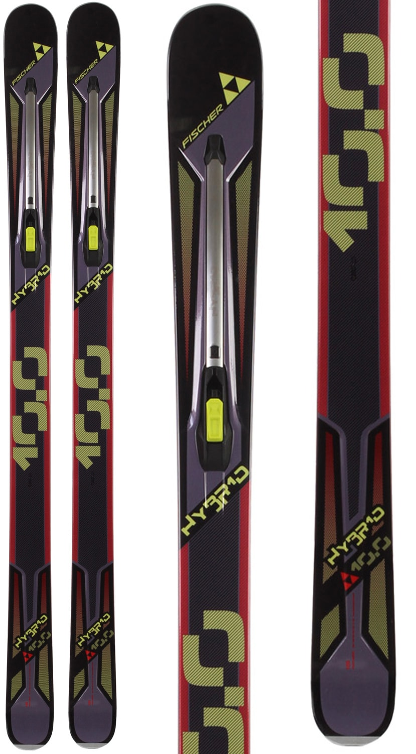 on sale fischer hybrid 10 0 skis up to 60 off. Black Bedroom Furniture Sets. Home Design Ideas