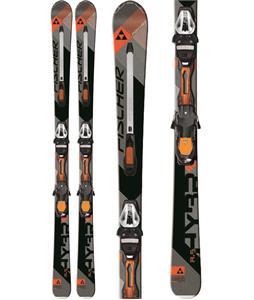 Fischer Hybrid 8.5 Powerrail Skis w/ RSX 12 Powerrail Bindings