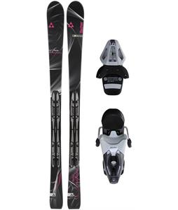 Fischer Inspire Skis w/ Rs10 Bindings White/Black