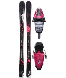 Fischer Inspire RF My Style Skis w/ RS 10 Bindings Purple/Black