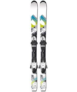 Fischer Koa Jr. Rail Skis w/ FJ4 AC Junior Rail Bindings