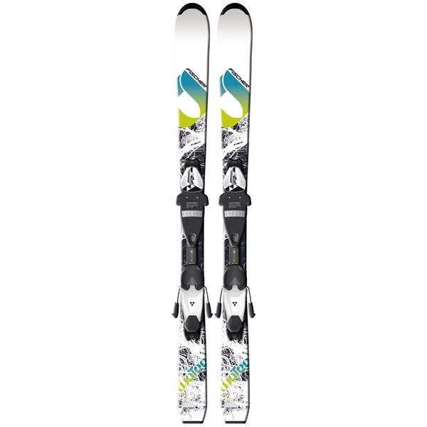 Fischer Koa Jr. Rail Skis w/ FJ4 AC Junior Rail Bindings