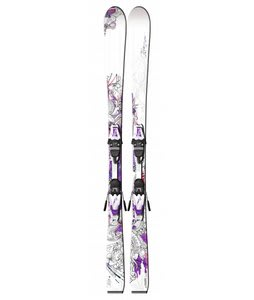 Fischer Koa 73 Skis w/ V9 MS Bindings White/Pink