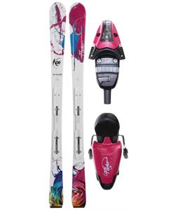 Fischer Koa 73 RF My Style Skis w/ V9 RF My Style Bindings Purple/Black