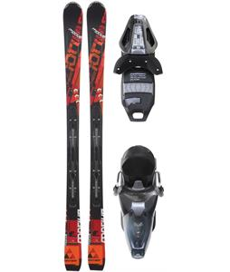 Fischer Motive 74 Powerrail Skis w/ RS 10 Powerrail Bindings Anthracite/Smoke