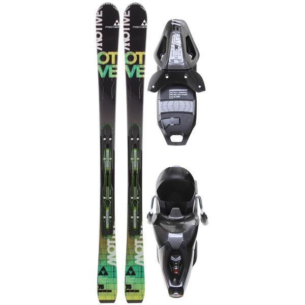 Fischer Motive 76 Powerrail Skis w/ RS 11 Powerrail Bindings