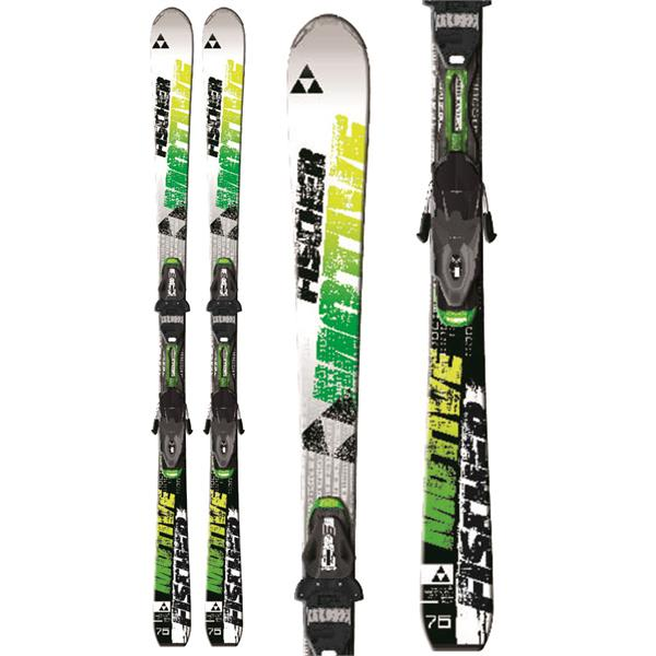 Fischer Motive 76 Powerrail Skis w/ RS11 Powerrail Bindings