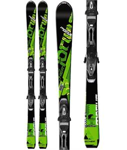 Fischer Motive 76 Skis w/ RS 11 Powerrail Bindings