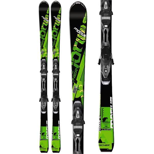 Fischer Motive 76 Skis w/ RS 11 Powerrail Bindings