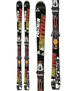 Fischer Motive 80 Powerrail Skis w/ RSX 12 Powerrail Bindings