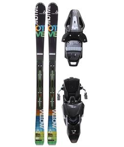 Fischer Motive 80 Skis w/ Rsx 12 Powerrail Wide Bindings