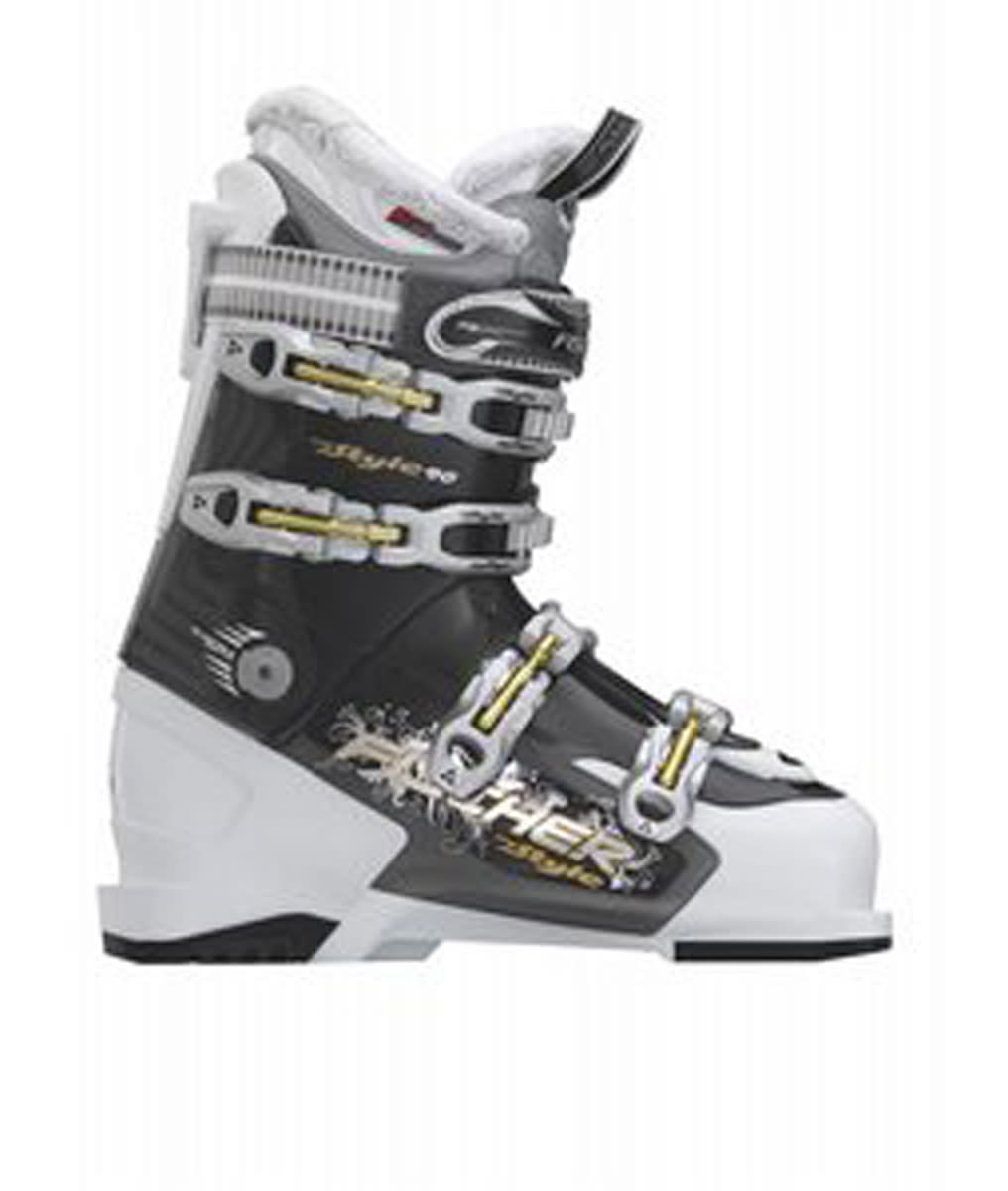 Fischer My Style 90 Ski Boots White/Grey Trans
