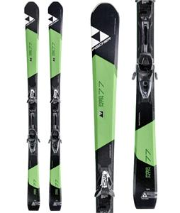 Fischer Pro MTN 77 Skis w/ RS11 Powerrail Bindings