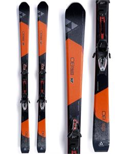 Fischer Pro MTN 80 Skis w/ RS11 Powerrail Bindings