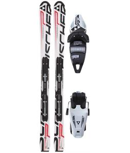 Fischer Progressor Jr. Rail Skis White/Black