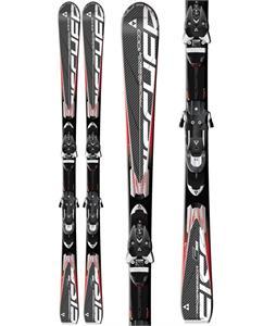 Fischer Progressor 1000 C-Line Skis w/ C-Line Z 13 Flowflex 2.0 WB Bindings