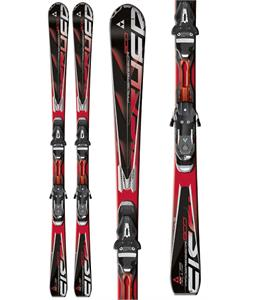 Fischer Progressor 800 Powerrail Skis w/ Rsx 12 Powerrail Wide Bindings
