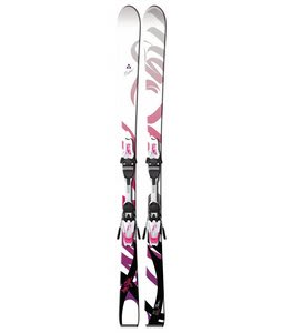 Fischer Pure Skis w/ V9 RF Bindings White/Violet