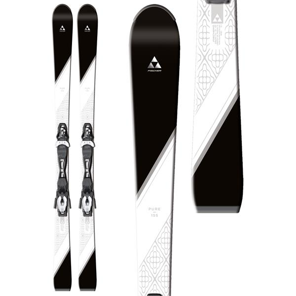 Fischer Pure Womentrack Skis w/ W9 Womentrack Bindings