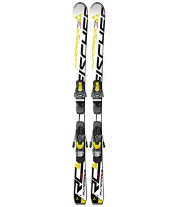 Fischer RC4 Superrace Jr. Rail Skis w/ FJ7 AC Junior Rail Bindings