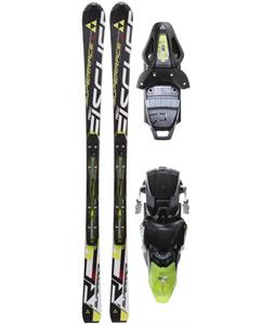 Fischer RC4 Superrace Sc Powerrail Skis w/ RC4 Z12 Powerrail Bindings