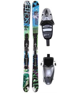 Fischer Sunner Rail Skis w/ FJ4 AC Junior Rail Bindings