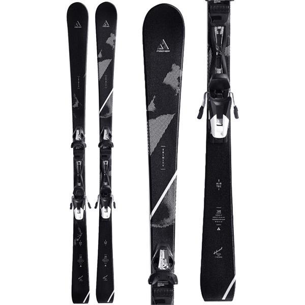 Fischer Trinity Skis w/ W10 Track Bindings