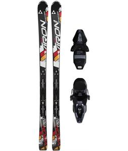 Fischer Viron 2.2 Skis w/ Rs10 Powerrail Bindings Black/White