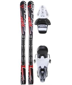 Fischer Viron Force Fp9 Skis w/ RS 10 Bindings White/Black