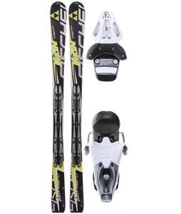 Fischer Viron Trend Fp9 Skis w/ RS 10 Bindings White/Black