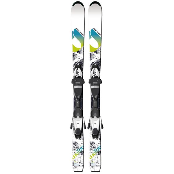 Fischer Watea Jr. Rail Skis w/ FJ4 AC Junior Rail Bindings